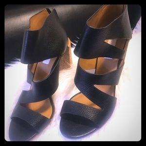 See by Chloe leather shoes little used